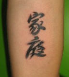 Chinese Characters Tattoos Design