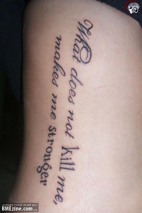 Iterewyt Good Tattoo Quotes For Men TattooMagz Unique Good Tattoo Quotes