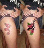 Meaning Coverup Flower Tattoo for Women