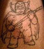 Tattoo Tuesday Radiohead Maniacs Mole Man & Art