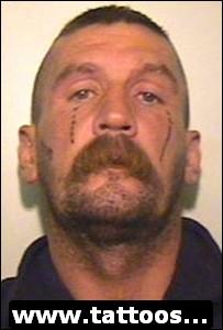 Old man gangster teardrop tattoo for What do tattoo teardrops mean