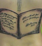 Cool Bible Verse Tattoos Design