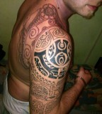 Groovy Tribal Arm Tattoos Slodive for Men