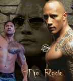 The Rock Tattoo Chest