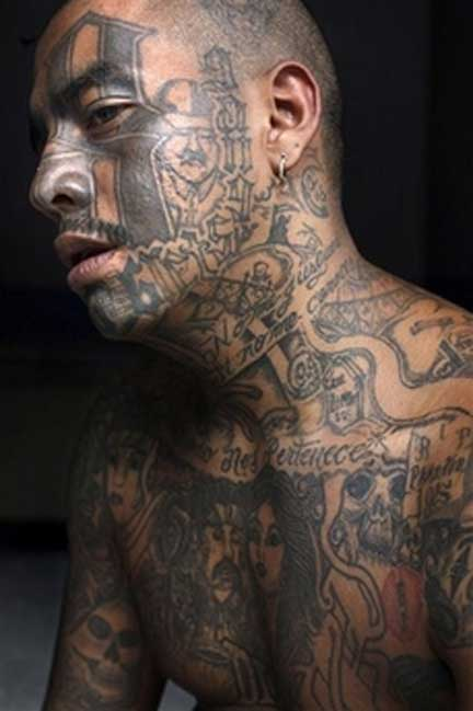Gang With Three Dots On Hand: Showing Gang Tattoos In Many Cases Can Be Dangerous For You In
