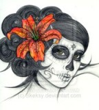 Dashing Deviantart The Tiger Lily Tattoo Sketch