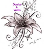Lily Song Tattoo Sketch Design By Denise A Wells
