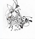 Lilydragonfly Tattoo On Deviantart