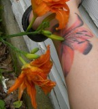 New Cool Tattoo Tiger Lily Tattoo