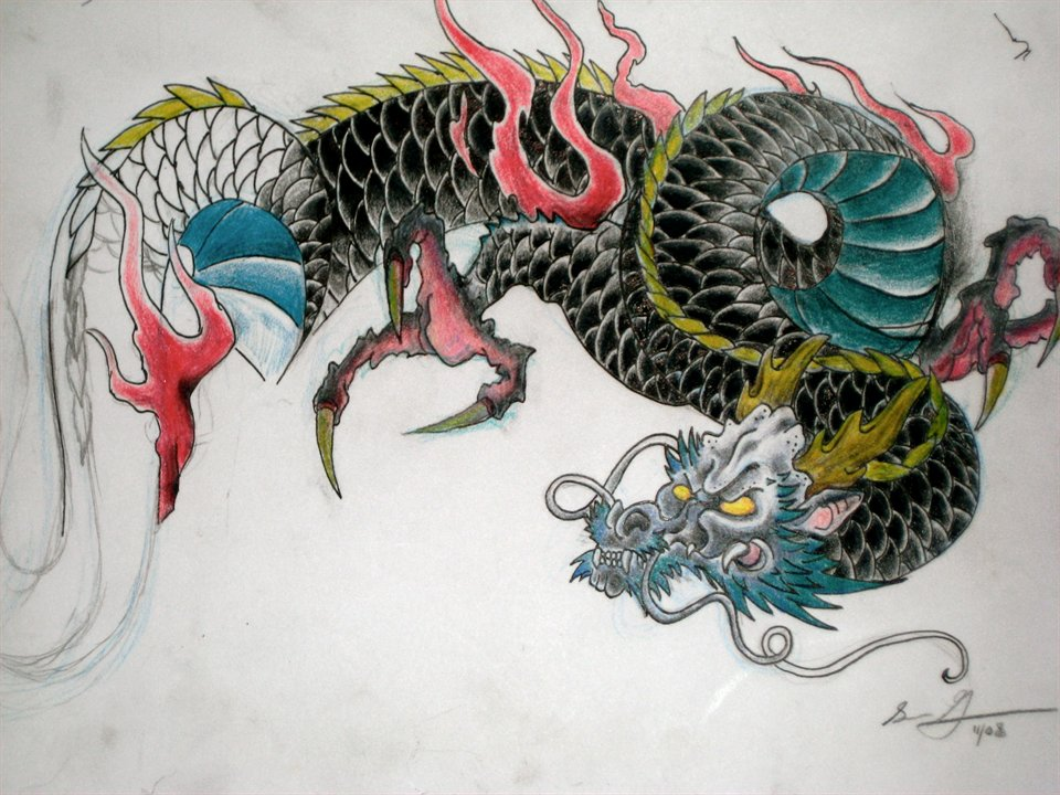 Japanese Tattoo Flash Designs Horicho