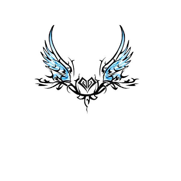 Angel Wings Tramp Stamp Tattoo By Djangelboy On Deviantart