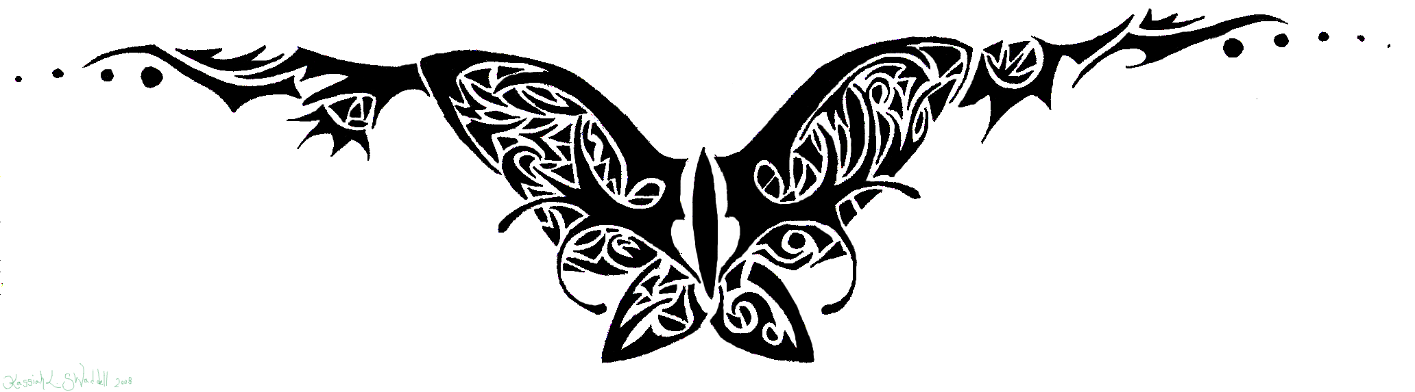 tramp stamp tattoo designs butterfly tramp stamp by ryvienna on deviantart. Black Bedroom Furniture Sets. Home Design Ideas