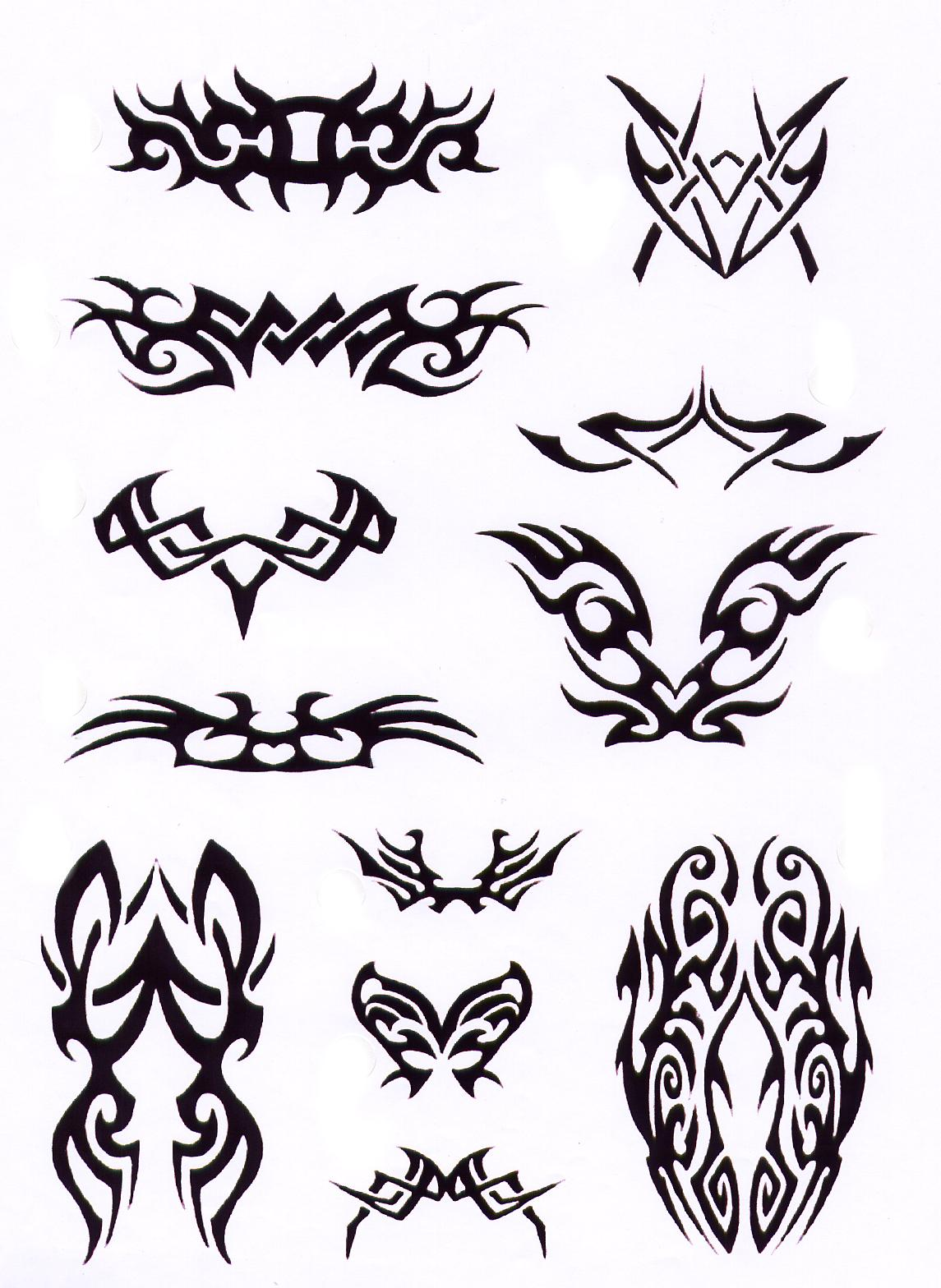 various cool tribal tattoo design sketches tribal