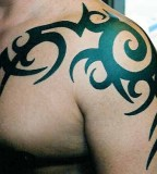 Tribal Tattoo Design Example for Men - Tribal Tattoos