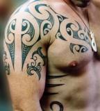 Awesome Polynesian - Tribal Tattoos Design for Men