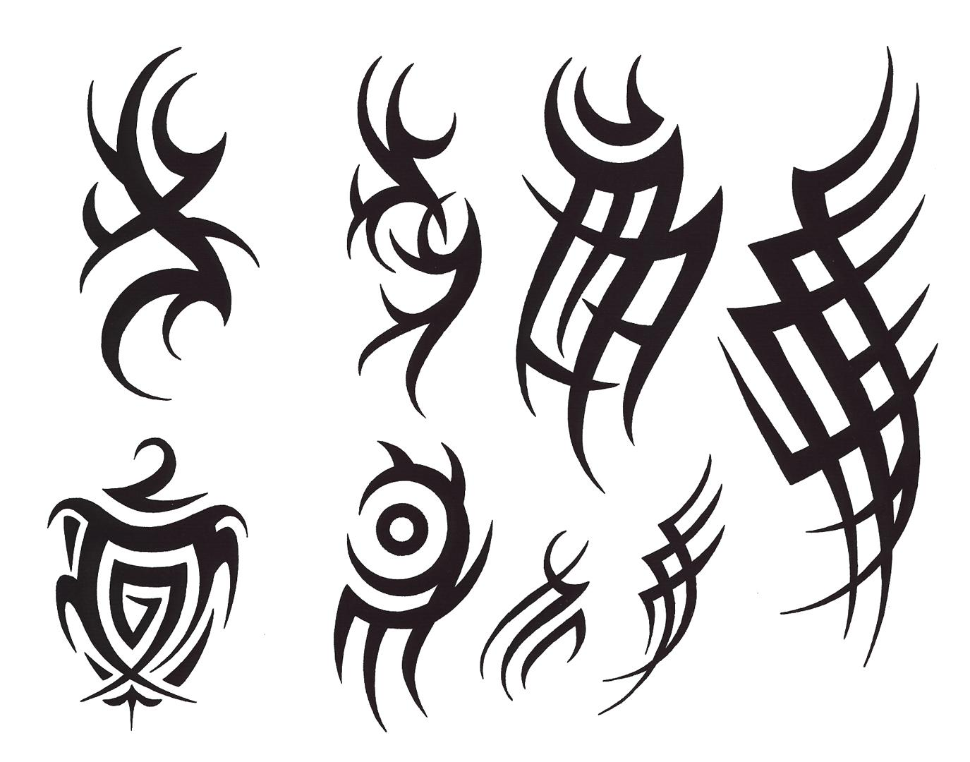 Tribal tattoo designs and patterns for men tribal for Cool tattoo designs men