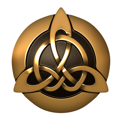 Golden Brown 3d Celtic Trinity Knot Tattoo Tattoomagz