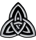Celtic Trinity Knot Temporary Tattoo Sample