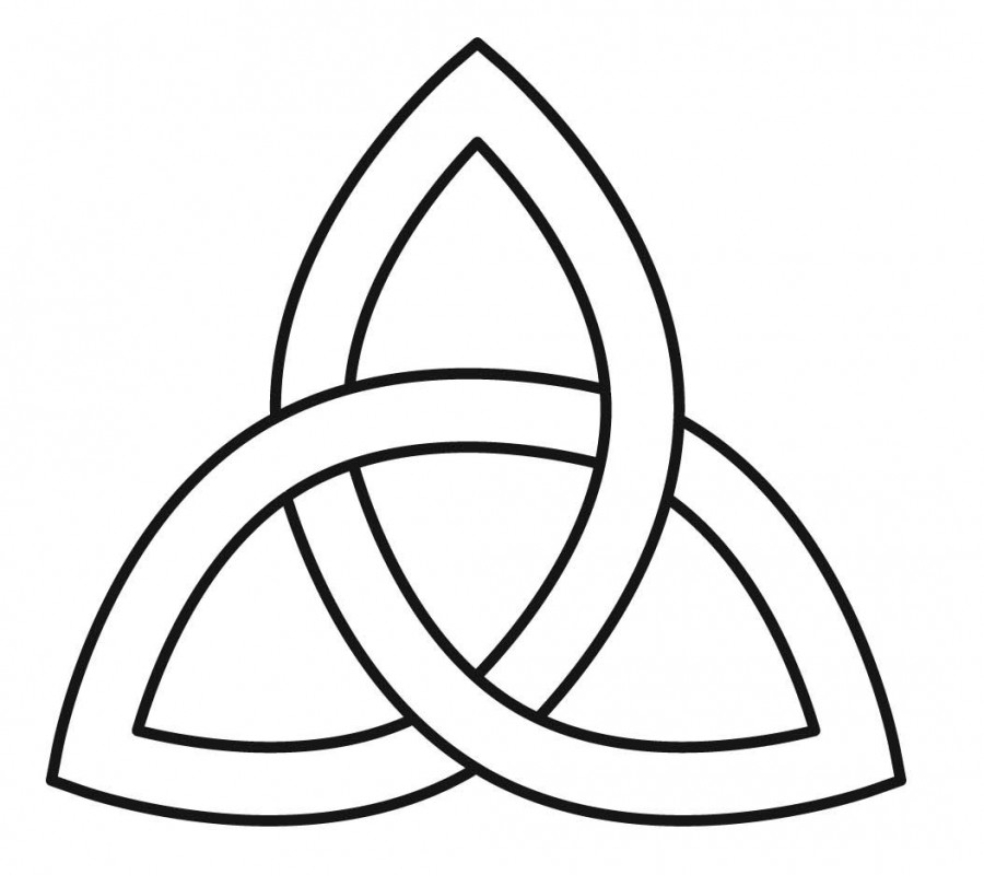 trinity knot basic design sketch for tattoo tattoomagz