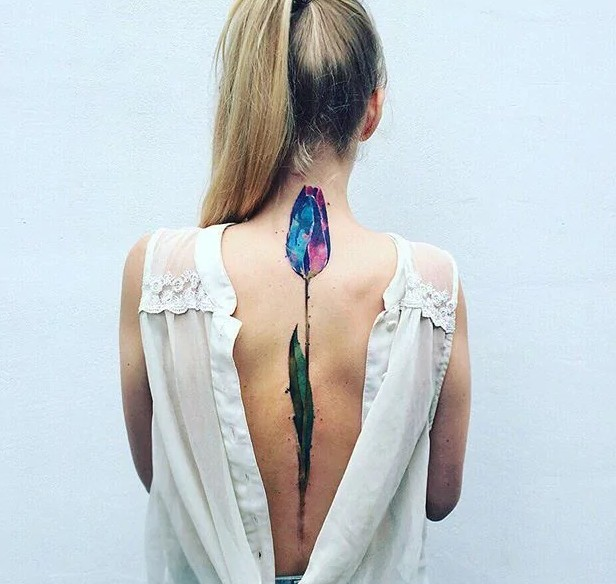 tulip tattoos for women