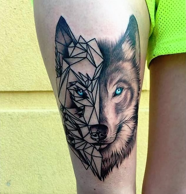 turquoise-eyes-wolf-tattoo