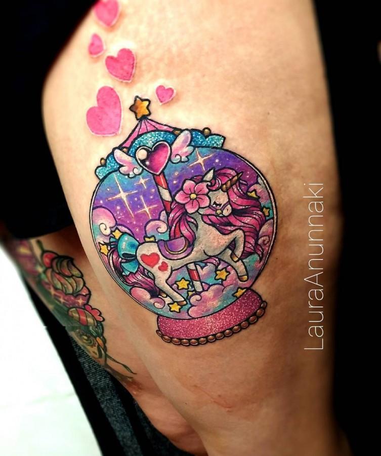 unicorn-kawaii-tattoo