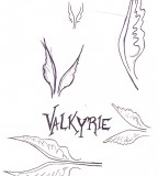 Valkyrie Wings Tattoo Doodles By Tanaii On Deviantart