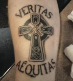 Veritas Aequitas  Tattoo Picture At Checkoutmyink
