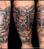 Evil Viking Tattoo