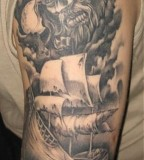 Viking Wiking Boat  Tattoo Picture At Checkoutmyink