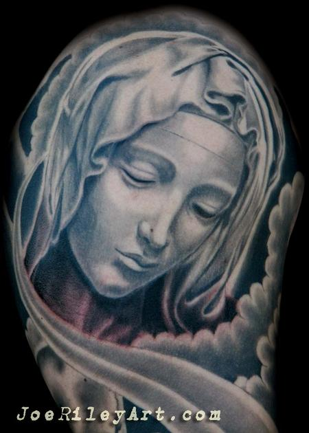 Mary designs Virgin