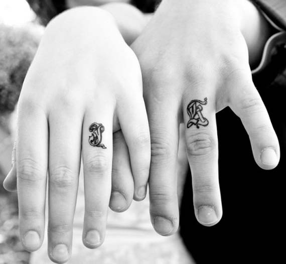 Marriage Ring Finger Tattoo