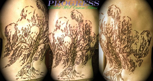 Weeping Willow Tree Tattoo Black Weeping Willow Tree Tattoos