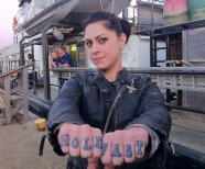 American Pickers Danielle Tattoos