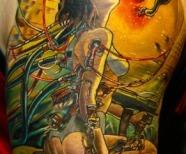 Anime style tattoos