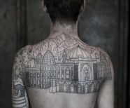 Architecture tattoos
