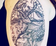 Awesome Lisa Orth tattoos