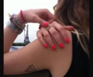 Awesome triangle tattoos