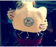 Backs suns tattoos
