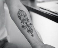 Balloons tattoos