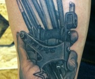 Bob Tyrell tatoos