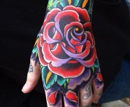 Colorful tattoos design