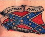 Confederate Flag Tattoos