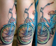 Cool bikes tattoos
