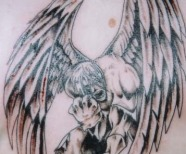Dark Angel Tattoo Designs