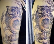 David Hale tattoos