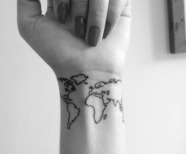 Earth tattoos