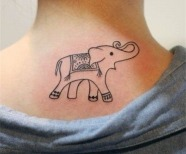 Elephants tattoos