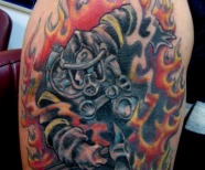 Firefighter Tattoos Designs