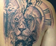 Gorgeous lion tattoos